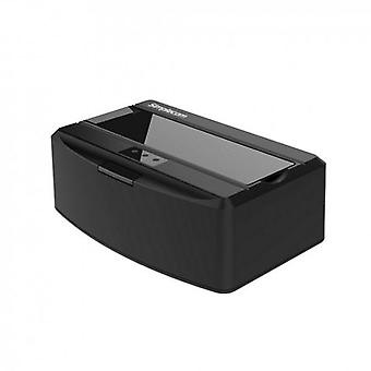 SD311 USB Docking Station with Lid for SATA Drive Black
