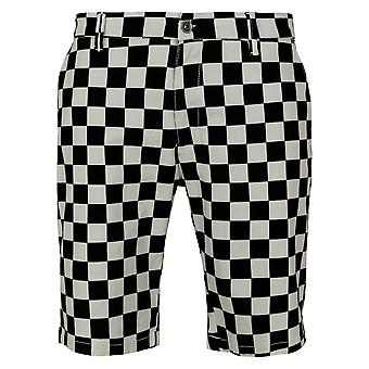Urban Classics Men's Shorts Check Twill