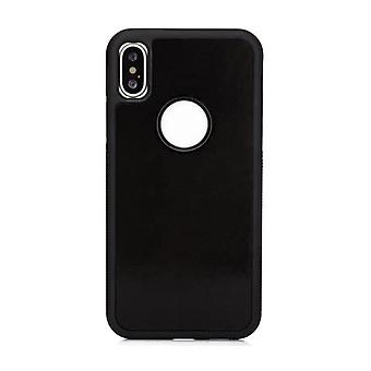 Stuff certifié® iPhone XR-anti gravité absorption cas housse cas noir