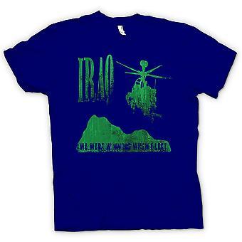 Mens T-shirt - Irak - waren wir gewinnen, wenn ich Links