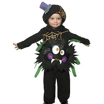 Toddlers Childrens Crazy Spider Fancy Dress Costume