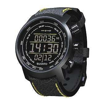 Suunto Premium Watches Elementum Terra Black/Yellow Leather SS019997000