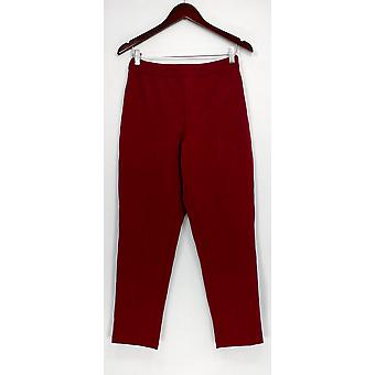 Joan Rivers Classics Collection Women's Pants Signanture Ankle Red A300856