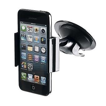 Ondersteuning van Celly Universal Car voor smartphones max breedte 90mm zwarte kleur