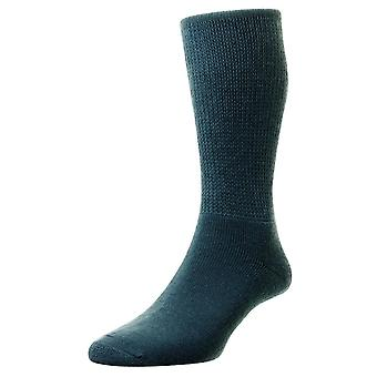 HJ Hall Wool Diabetic Socks - Airforce
