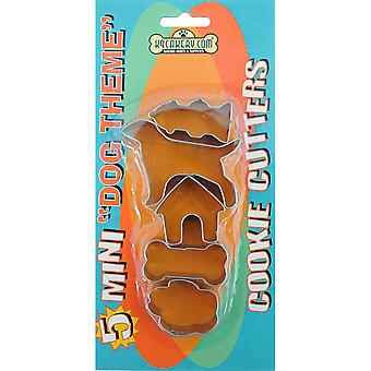 Cookie Cutters 5 Pkg Mini Dog Theme 84410
