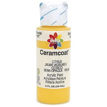 Ceramcoat Acrylic Paint 2 Ounces Citrus Semi Opaque 2000 2648