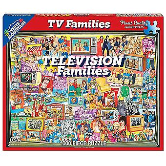 Television Families 1000 piece jigsaw puzzle 760mm x 610mm  (wmp)