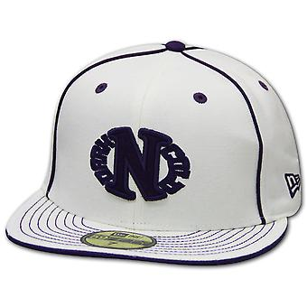 Dark n Cold Egg Logo Baseball Cap White Purple