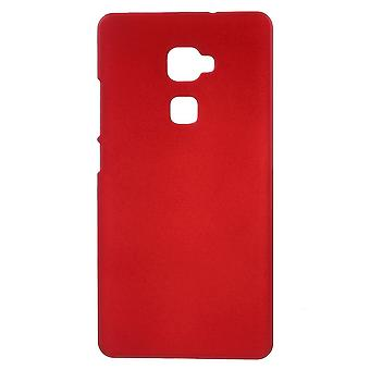 Cover rubber gel plastic cover PC to Ascend Huawey Mate's (red)