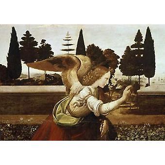 Annunciation - Detail Poster Print by  Leonardo Da Vinci