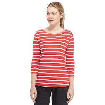 T-shirt Prairie regata femminile