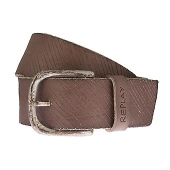 Replay belt leather belts men's belts mud