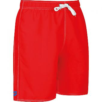 arena Fundamentals Sides Vent Boxer Shorts Herren Badehose Rot 43628/48