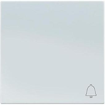 Sygonix Cover Bell symbol toggle SX.11 Sygonix white, (glossy) 33591A
