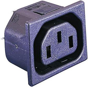 IEC connector C13 Series (mains connectors) PX Socket, vertical vertical