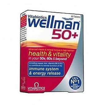Vitabiotics - Wellman 50 + 30 VTabs