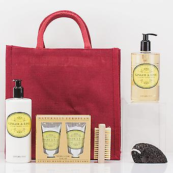 Ginger Nutty Hand & Foot Gift Bag - Luxury Beauty Gift Bag Set