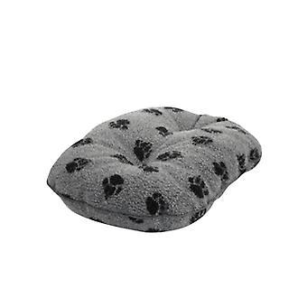 Fleece Paw Grey Quilted Mattress 68cm (27