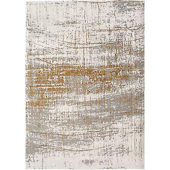 Mad Men Columbus Gold Distressed Rug - Louis de poortere