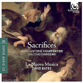 Charpentier / Carissimi / De Brossard / Bates - Sacrifices [SACD] USA import