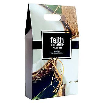 Faith in nature Pack Travel Coco 3 x 100 ml