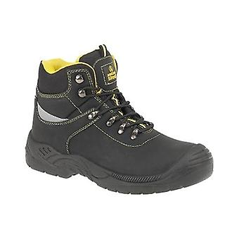 Amblers Steel FS213 Womens Toe Cap Safety Boots Leather Rubber Phylon Lace Up