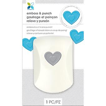 Momenta Embossing Punch-Heart 29525