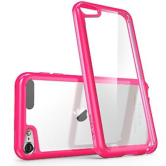 iPod Touch 6th Generation Case, i-Blason, Halo Scratch Resistant Case- Clear/Pink