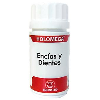 Equisalud Holomega gums and teeth Capsules