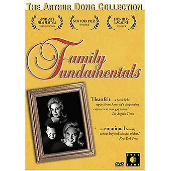 Familjen grundläggande [DVD] USA import