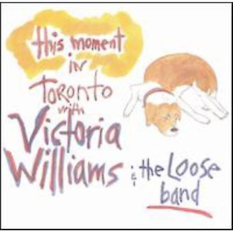 Victoria Williams - This Moment-Live en importation USA Toronto [CD]