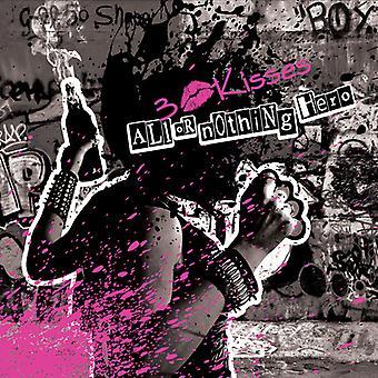 3 kys - alt eller intet Hero [CD] USA importerer