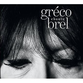 Juliette Greco - Greco Flemming Brel [CD] USA import