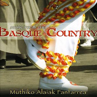 Muthiko Alaiak Fanfarrea - Music From the Basque Country [CD] USA import