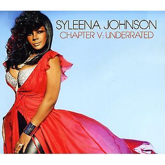 Syleena Johnson - capitolo v: importazione USA Underrated [CD]