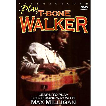 Max Milligan - Play T-Bone Walker [DVD] USA import