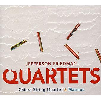 Jefferson Friedman - Jefferson Friedman: Strygekvartetter [CD] USA import