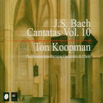J.S. Bach - J.S. Bach: Cantatas, Vol. 10 [CD] USA import