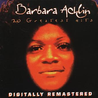Barbara Acklin - 20 Greatest Hits [CD] USA import