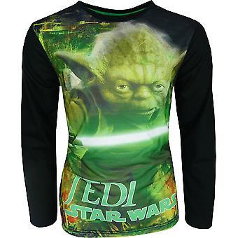 Gutter Star Wars 7 langermet topp / t-skjorte