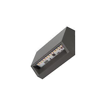 Timeguard Horizontal 1.4W LED Step Light, Dark Grey