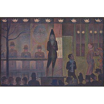 Georges Seurat - Night Time Poster Print Giclee