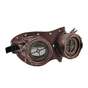 Spiked & Studded Metallic Steampunk Adult Goggles