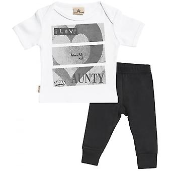 Spoilt Rotten I Love My Aunty T-Shirt & Jersey Trousers Outfit Set