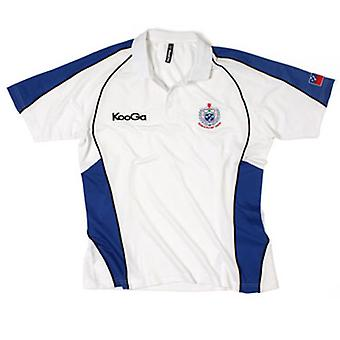 KOOGA Samoa Hause Spieler Medien Rugby Polo-Shirt [weiß]