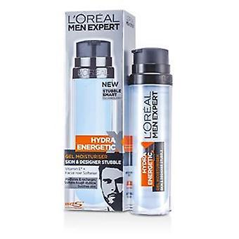 L'Oreal homens Hydra perito energético pele & Designer restolho do Gel hidratante (bomba) 78201733-50ml/1.7 oz