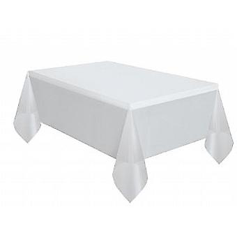 Plastic Tablecover - Clear (137cm x 274cm)