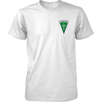 Royal Marines 29 Commando artiglieria - 3 Cdo brigata Insignia - Mens petto Design t-shirt