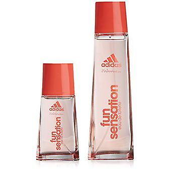 Adidas Woman Case Fun Sens + Mini Vapo 75 Ml (Perfumería , Pakke)